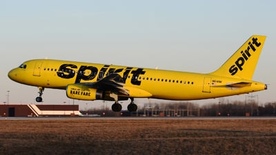 A picture of N614NK - Airbus A320232 - Spirit Airlines - © DJ Reed - OPShots Photo Team