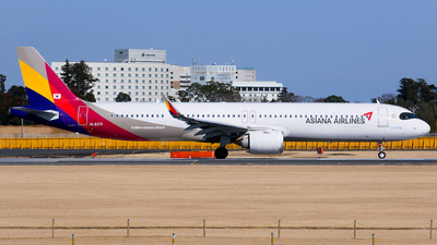 HL8371 - Airbus A321-251NX - Asiana Airlines