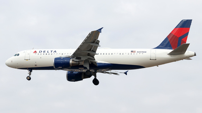 N337NW - Airbus A320-212 - Delta Air Lines