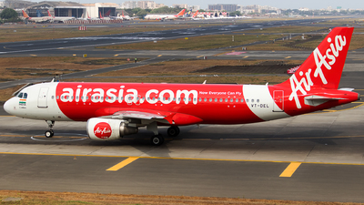 VT-DEL - Airbus A320-214 - AirAsia India