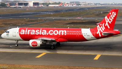A picture of VTDEL - Airbus A320214 - AirAsia - © Aneesh Bapaye