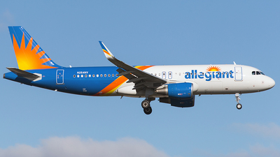 N254NV - Airbus A320-214 - Allegiant Air