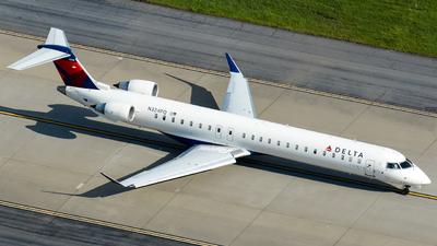 A picture of N324PQ - Mitsubishi CRJ900LR - Delta Air Lines - © Kyle Mahar
