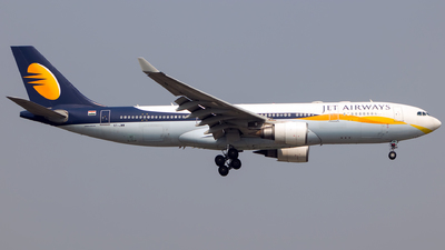 VT-JWW - Airbus A330-202 - Jet Airways