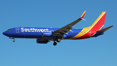 A picture of N8545V - Boeing 7378H4 - Southwest Airlines - © wangruoyao