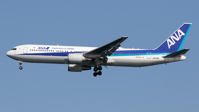 A picture of JA608A - Boeing 767381(ER) - All Nippon Airways - © Yukemaro