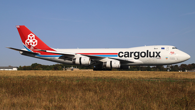 LX-WCV - Boeing 747-4R7F(SCD) - Cargolux Airlines International