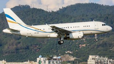 VP-CNC - Airbus A319-133X(CJ) - Asia United Business Aviation