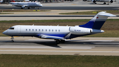 TC-MJA - Bombardier BD-700-1A11 Global 5000 - MNG Jet