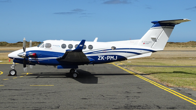 ZK-PMJ - Beechcraft B200 Super King Air - Air Wanganui