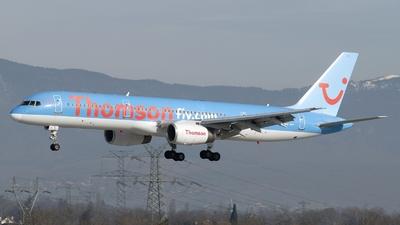 G-BYAY - Boeing 757-204 - Thomsonfly