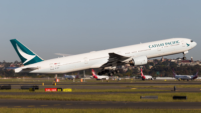 A picture of BHNP - Boeing 777367 - Cathay Pacific - © Rory Delaney