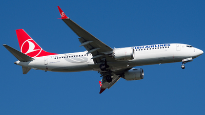 A picture of TCLCJ - Boeing 737 MAX 8 - Turkish Airlines - © mkwia