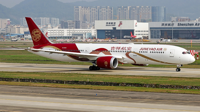 B-207N - Boeing 787-9 Dreamliner - Juneyao Airlines