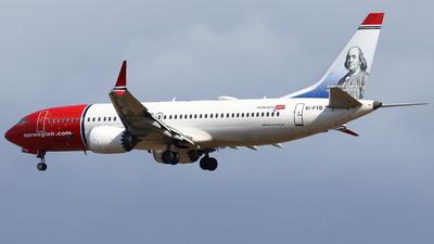 EI-FYD - Boeing 737-8 MAX - Norwegian