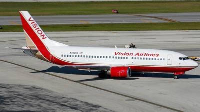 N732VA - Boeing 737-3T0 - Vision Airlines