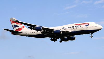 G-CIVJ - Boeing 747-436 - British Airways