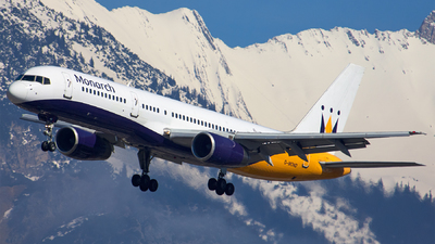 G-MOND - Boeing 757-2T7 - Monarch Airlines