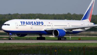 EI-UNP - Boeing 777-312 - Transaero Airlines