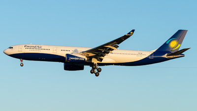 9XR-WP - Airbus A330-343 - RwandAir