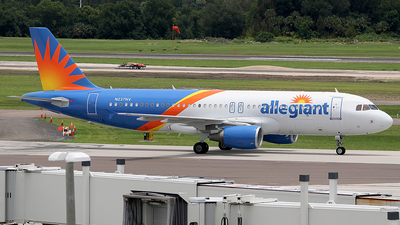A picture of N237NV - Airbus A320214 - Allegiant Air - © Eric Page Lu
