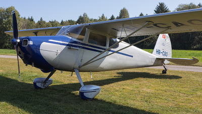 HB-CAO - Cessna 170 - Groupement des Avions Historiques