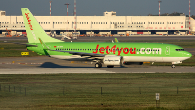 CN-RPF - Boeing 737-8K5 - Jet4You