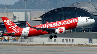 9M-RAH - Airbus A320-251N - AirAsia