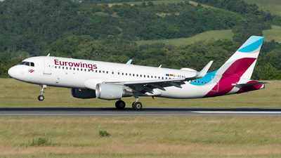 A picture of DAEWQ - Airbus A320214 - Eurowings - © Michael Musil