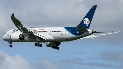 A picture of N967AM - Boeing 7878 Dreamliner - Aeromexico - © Israel Polanco