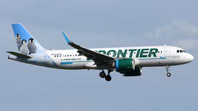 A picture of N344FR - Airbus A320251N - Frontier Airlines - © DJ Reed - OPShots Photo Team
