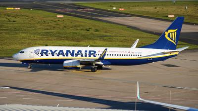 A picture of EIDHT - Boeing 7378AS - Ryanair - © Yannick Schreiber