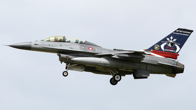 ET-210 - General Dynamics F-16BM Fighting Falcon - Denmark - Air Force