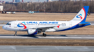 VQ-BTP - Airbus A319-111 - Ural Airlines