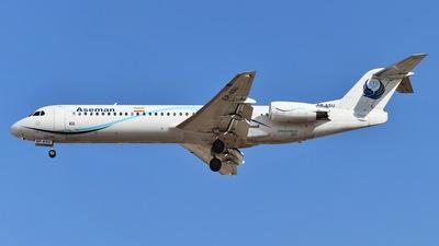 EP-ASU - Fokker 100 - Iran Aseman Airlines