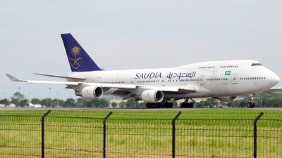 TF-AAL - Boeing 747-428 - Saudi Arabian Airlines (Air Atlanta Icelandic)