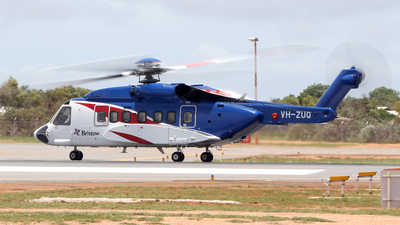 VH-ZUQ - Sikorsky S-92A Helibus - Bristow Helicopters