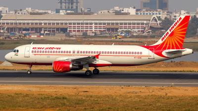 VT-EDE - Airbus A320-214 - Air India