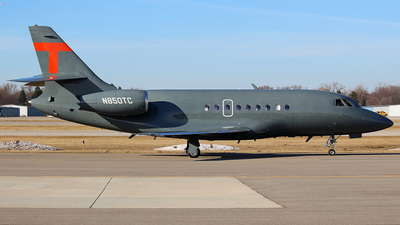 N850TC - Dassault Falcon 2000 - Private
