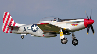 N51MX - North American P-51D Mustang - Private
