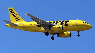 N533NK - Airbus A319-132 - Spirit Airlines