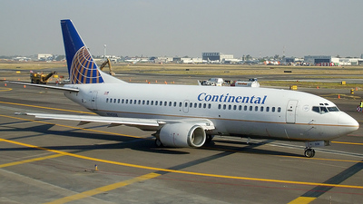 N14358 - Boeing 737-3T0 - Continental Airlines