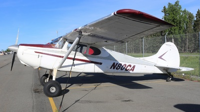 N80CA - Cessna 170B - Private