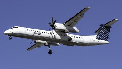 A picture of CGLQD - De Havilland Canada Dash 8400 - Porter Airlines - © Kerrigan_Aviation_NJ