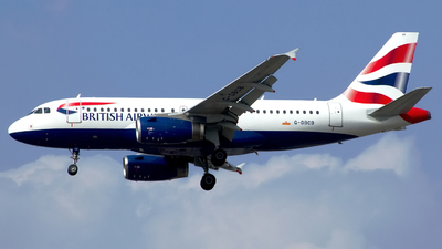 G-DBCB - Airbus A319-131 - British Airways