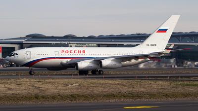 RA-96018 - Ilyushin IL-96-300 - Rossiya - Special Flight Squadron