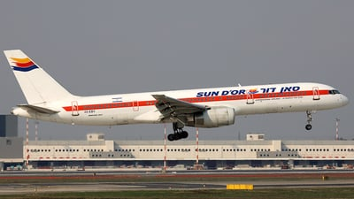 4X-EBY - Boeing 757-27B - Sun d'Or International Airlines