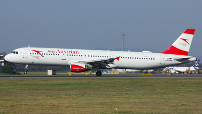 OE-LBC - Airbus A321-111 - Austrian Airlines