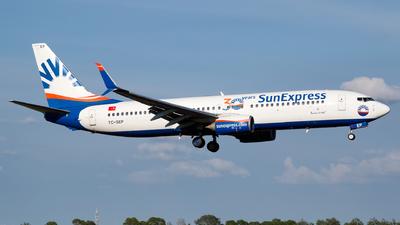 A picture of TCSEP - Boeing 7378HC - SunExpress - © Matteo Lamberts