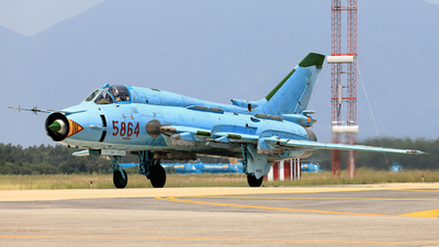 5864 - Sukhoi Su-22M4 Fitter K - Vietnam - Air Force